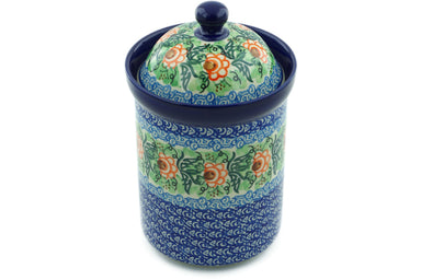 6 cup Canister - U1383 | Polish Pottery House