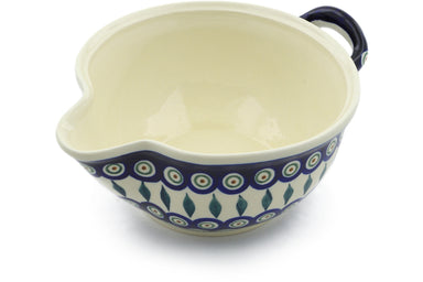 "8"" Batter Bowl - Peacock 