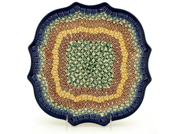 "11"" Platter - Blue Autumn 