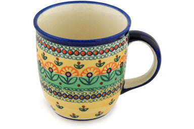 12 oz Mug - Folk Art | Polish Pottery House