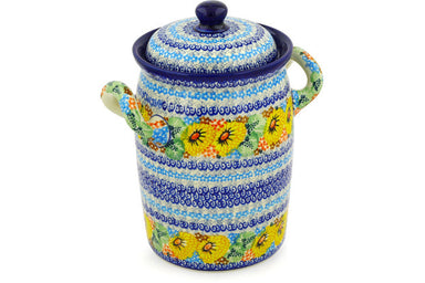 10 cup Canister - U4202 | Polish Pottery House