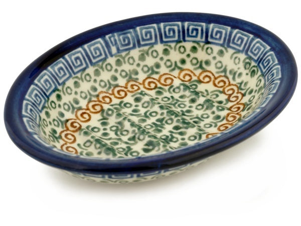 "6"" Soap Dish - Blue Autumn 