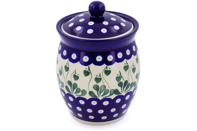 4 cup Canister - 377PX | Polish Pottery House