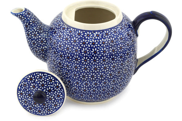 8 cup Tea Pot - 120 | Polish Pottery House