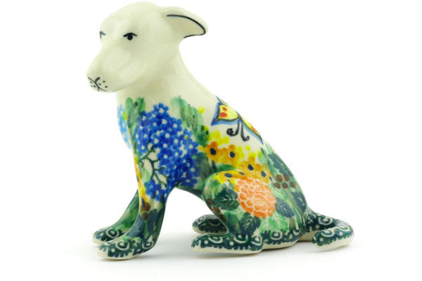 "4"" Dog Figurine - Spring Garden 