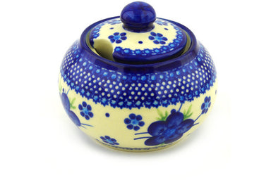 11 oz Sugar Bowl - D1 | Polish Pottery House
