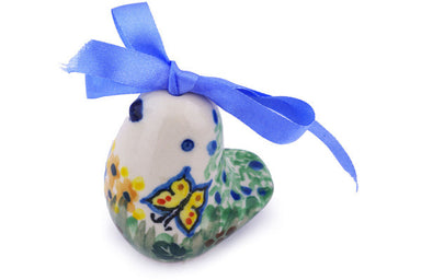 "2"" Ornament Bird Bell - Spring Garden 