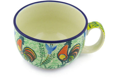 13 oz Cup - U2663 | Polish Pottery House