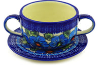 19 oz Soup Cup with Saucer - D116