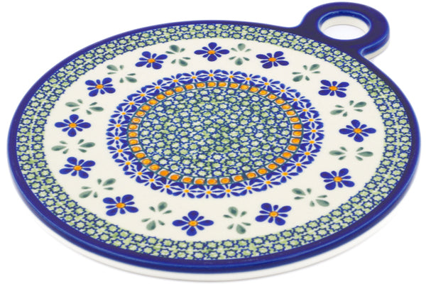 "11"" Cutting Board - Emerald Mosaic 
