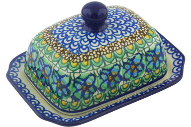 "6"" Butter Dish - Moonlight Blossom 