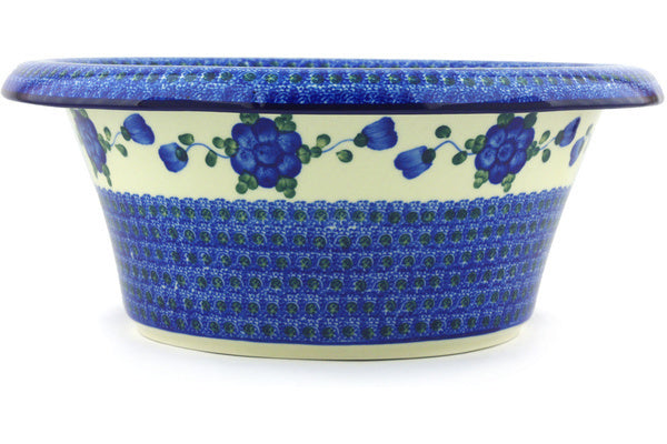 16 cup Bowl with Rolled Lip - Heritage | Polish Pottery House