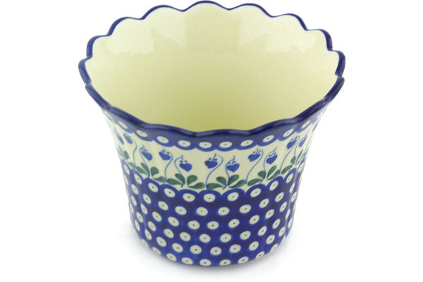 "8"" Flower Pot - Blue Bell 