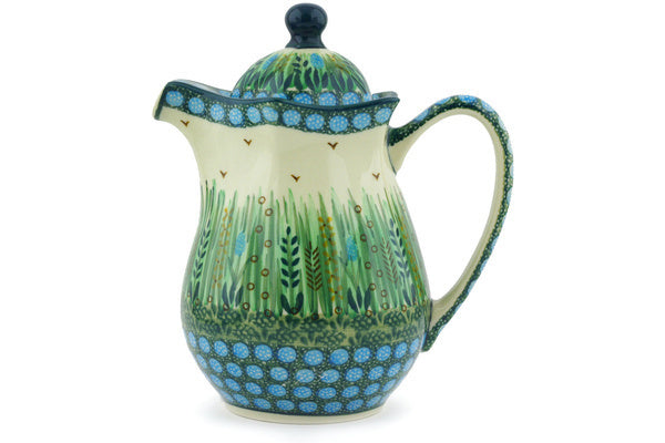 4 cup Pitcher with Lid - U803 | Polish Pottery House