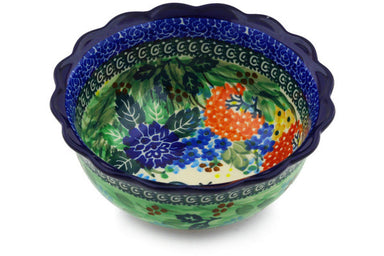 "6"" Scalloped Bowl - Whimsical 