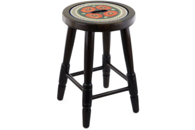 "18"" Stool - Southwest Poppy 