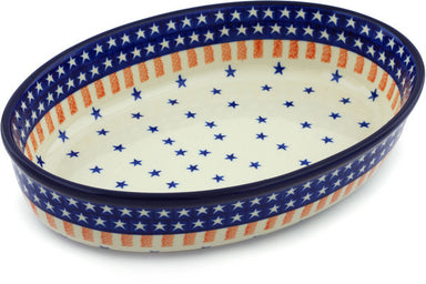 "11"" Oval Baker - 179X 