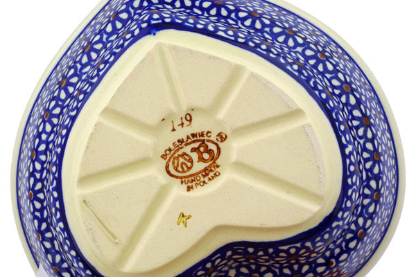 17 oz Heart Bowl - 120 | Polish Pottery House