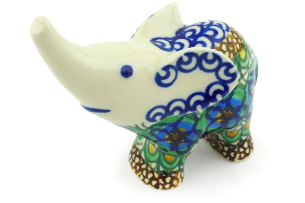 "4"" Elephant Figurine - Moonlight Blossom 