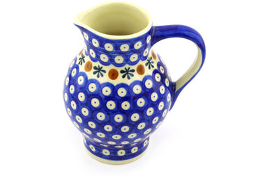 23 oz Pitcher - Old Poland | Polish Pottery House