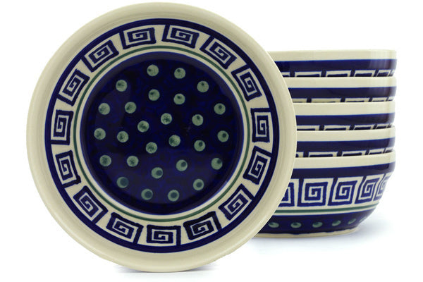 16 oz Set of 6 Bowls - 137 | Polish Pottery House