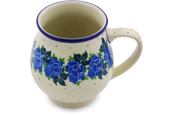 15 oz Bubble Mug - Bendikas Floral | Polish Pottery House