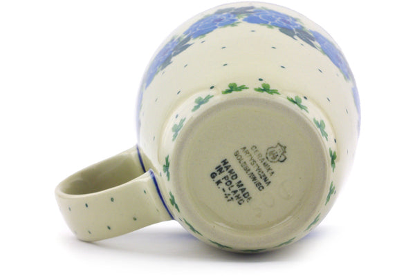 12 oz Mug - Bendikas Floral | Polish Pottery House