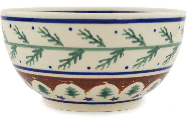 15 oz Dessert Bowl - Evergreen | Polish Pottery House