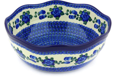 17 cup Serving Bowl - Heritage | Polish Pottery House