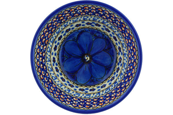 13 oz Cereal Bowl - Fiolek | Polish Pottery House