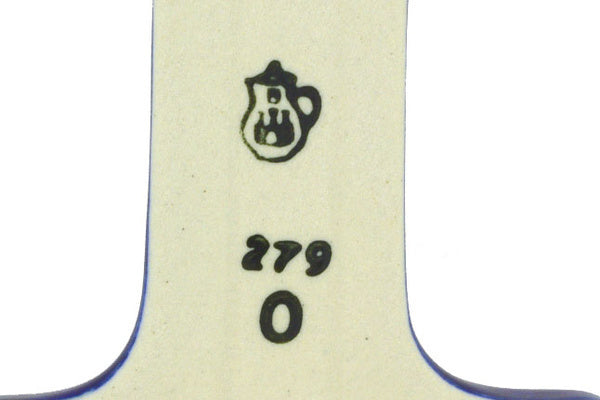"4"" #1 Hanging Number with hole - 377O 