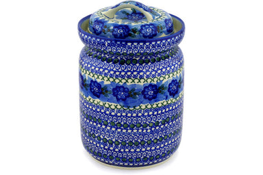 15 cup Canister - U595 | Polish Pottery House