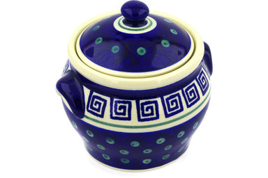 4 cup Canister - 137 | Polish Pottery House