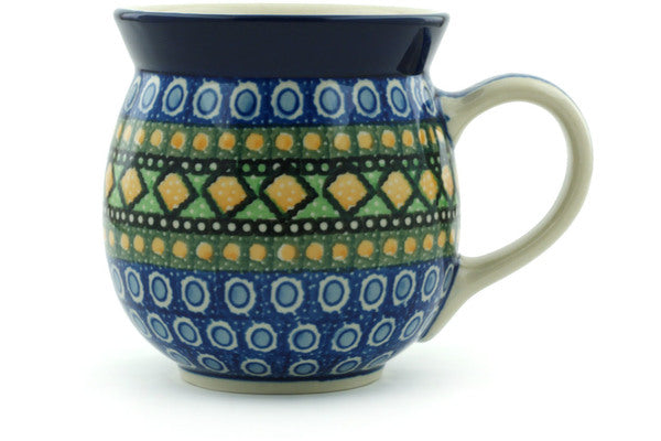 15 oz Bubble Mug - U323 | Polish Pottery House