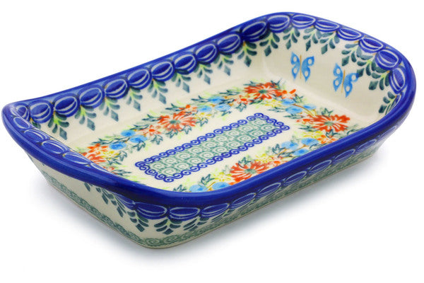 "7"" Platter with Handles - D156 