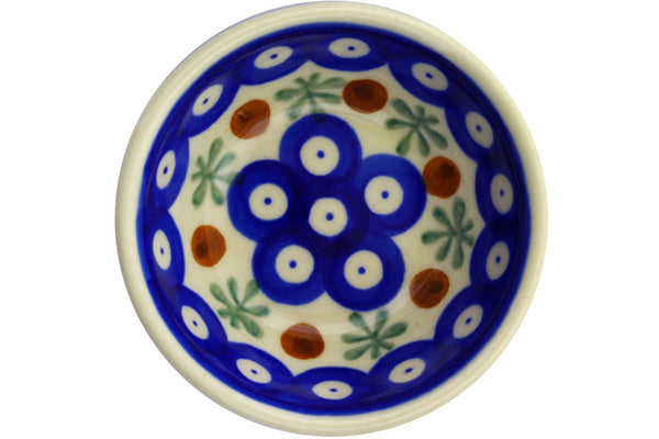 3 oz Condiment Bowl - Old Poland | Polish Pottery House