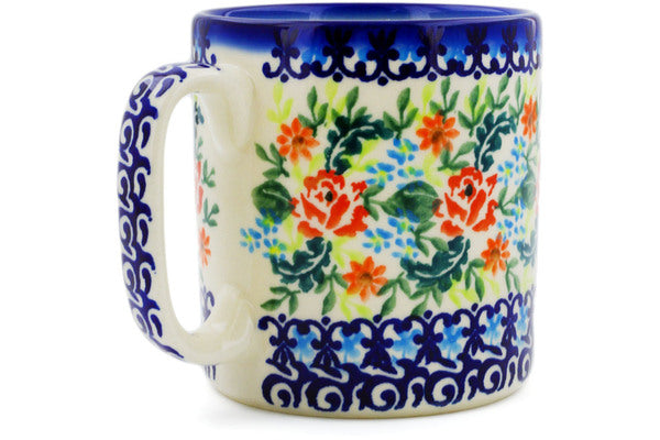 11 oz Mug - P0021B | Polish Pottery House