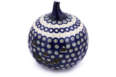"9"" Jack O Lantern Candle Holder - 486 