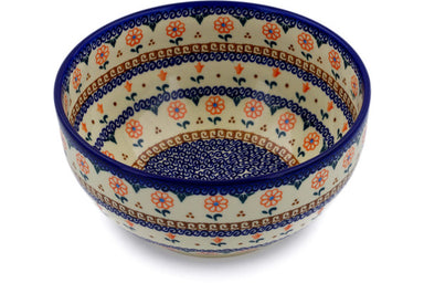 12 cup Serving Bowl - D2 | Polish Pottery House