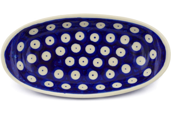5 oz Condiment Dish - Polka Dot | Polish Pottery House