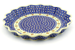 "13"" Fluted Pie Plate - 864 