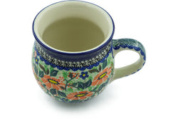 12 oz Bubble Mug - U2097 | Polish Pottery House