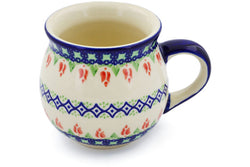 11 oz Bubble Mug - D24 | Polish Pottery House