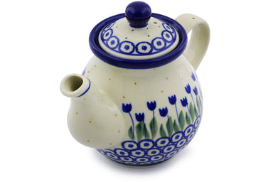 12 oz Individual Tea Pot - 490AX | Polish Pottery House