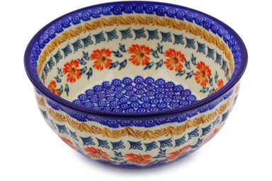 4 cup Fluted Bowl - P9291A | Polish Pottery House