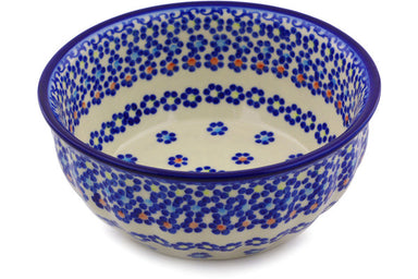 4 cup Fluted Bowl - P9286A | Polish Pottery House