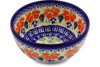 13 oz Dessert Bowl - Athens Prairie | Polish Pottery House