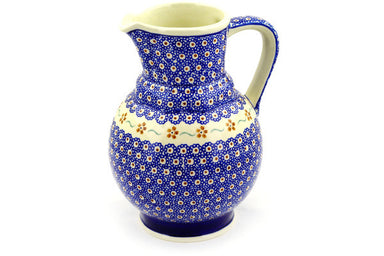 7 cup Pitcher - 864 | Polish Pottery House
