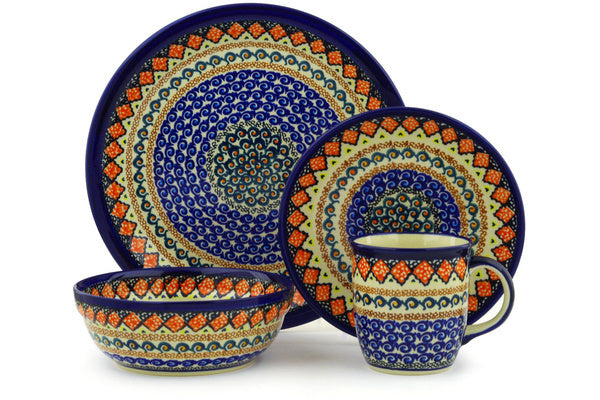 Place Setting - Midnight Blue | Polish Pottery House