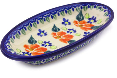 4 oz Condiment Dish - Athens Prairie | Polish Pottery House